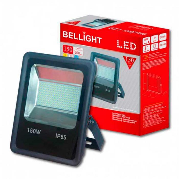 Led прожектор 150W 6500K Bellight Slim SMD