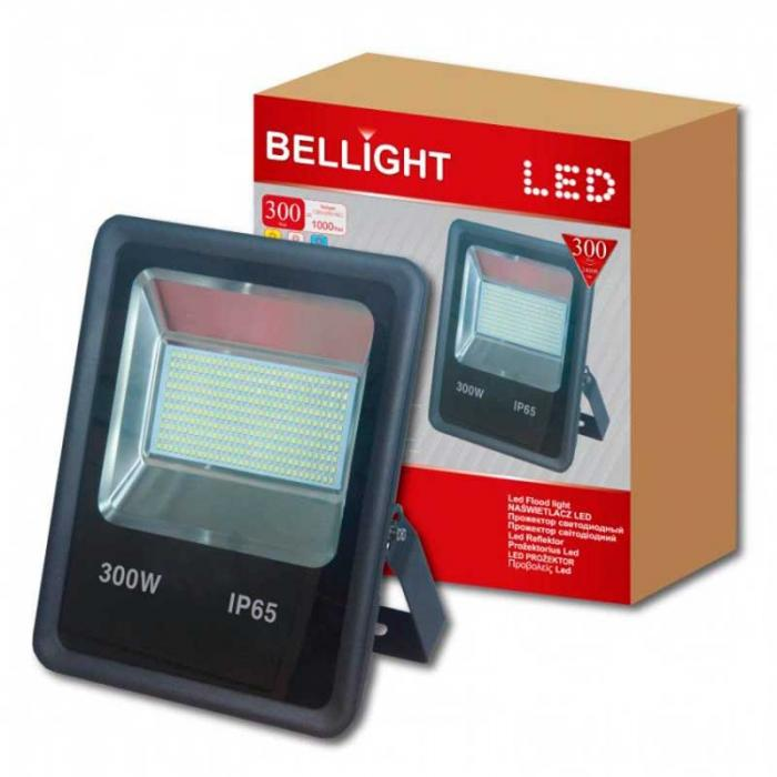 Led прожектор 300W 6500K Bellight Slim SMD